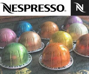 NESPRESSO VERTUO COFFEE VARIETY MIX  20 OR 30  CAPSULES PODS 10 OR 15 BLENDS