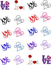 LOVE (Valentine) Waterslide Nail Decals/ Nail Art