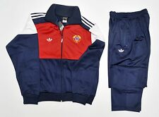 Adidas tracksuit new vintage retro old school pants jacket 80 cccp ussr. L- XL