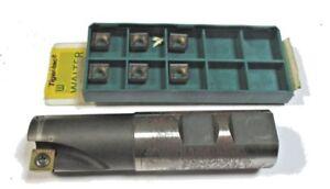 WSP Schaftfräser Ø25 F2241.W.025.Z02.09 Walter + 6 WSP SPMT 09T308 Walter K316