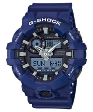 New Casio G-Shock GA700-2 Super Illuminator Ana-Digital 3D Blue Men's Watch