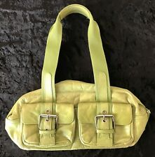 Women's STONE MOUNTAIN Avocado Banquette Purse ~ Lots of Storage