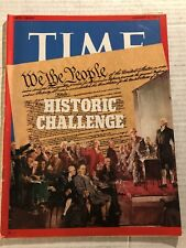 1973 TIME Magazine RICHARD NIXON The Constitution WATERGATE Historic Challenge