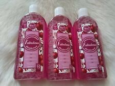 Fabulosa Concentrated Disinfectant 4in 1 Black Cherry 🍒 Merlot 3x220ml