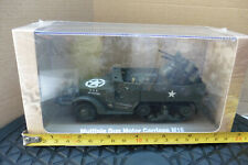 ATLAS 1/43 HALF TRACK MULTIPLE GUN MOTOR CARRIAGE M16 MILITARY VEHICLE US SEALED