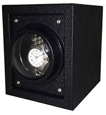 Orbita Piccolo 1 Black Single Automatic Watch Winder Box 5 Year Battery W02757