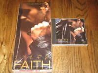 George Michael Faith longbox and Original cd!-Rare! Wham