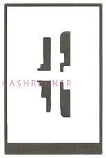 Quadro colla adesivo pellicola adesiva ADHESIVE STICKER FRAME HTC ARIA g9 a6380