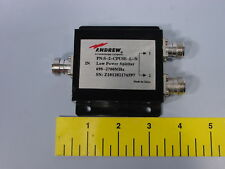 Andrew Commscope S-2-CPUSE-L-N Two-way Low Power Splitter 698–2700 MHz