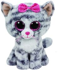 NEW Beanie Boos - Kiki The Grey Cat from Mr Toys