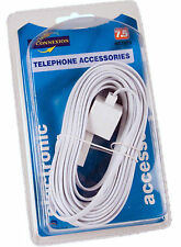 LANDLINE TELEPHONE EXTENSION CABLE BT WIRE LEAD CORD PHONE MODEM FAX BROADBAND