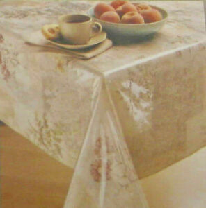 Clear Vinyl Tablecloth Protector By Elrene 70 Round