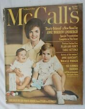 McCall's Magazine, May 1962, Kennedy, Children in the White House