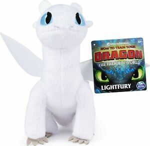 "LIGHTFURY 8"" Premium Plush Dreamworks How To Train Your Dragon Soft Toy"