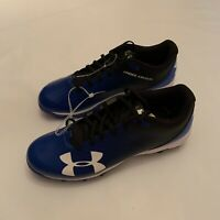 Under Armour UA Authentic Collection Leadoff Low RM Baseball Cleats Men's Size 9