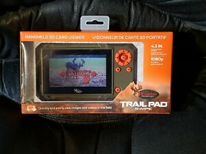 Brand New Wildgame Innovations Trail Pad Swipe Handheld SD Card Viewer VU60 NIB