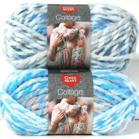 2 Count Red Heart 5 Oz Collage Frozen 7 Jumbo 80% Acrylic 20% Wool Yarn