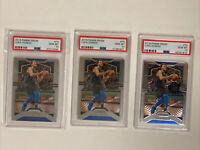Lot (3) 2019-20 Panini Prizm Luka Doncic #75 PSA 10 GEM MINT 2nd Year MAVERICKS