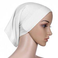 Women's Under Scarf Tube Bonnet Cap Bone Islamic Head Cover Hijab Hair Wrap Loss