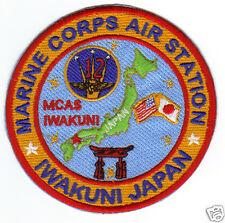 Usmc Base Patch, Marine Corps Air Station, Iwakuni Japan Y