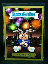 GARBAGE PAIL KIDS 2011 Flashback Series 3 ADAM Bomb Mania GOLD #5 Fireworks -FS3