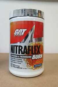 GAT NITRAFLEX Hyperemia & Thermogenic Burn Blue Raspberry