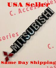 3D Emblem Badge Decal Sticker For Mitsubishi