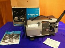Magnon 800 Instdual 1970s 8mm and Super 8 film Projector
