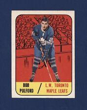 1967-68 Topps BOB PULFORD #19 NRMT+ Toronto Maple Leafs !!