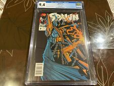 Spawn #7 CGC 9.4 Newsstand White Pages Image Comics 1993 Todd McFarlane