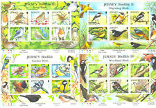 Jersey-Birds the set of 6 min sheets mnh 2007-2012