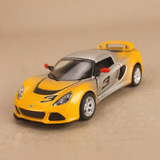 2012 Lotus ExigeS Model Car Yellow Silver Ombre 1:32 12.5cm DieCast PullBack OLP