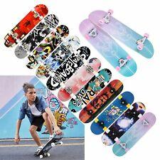 Skateboard Holz Kinder Board Kickboard Holzdeck 7-Lagiges Ahornholz 31 Zoll DE