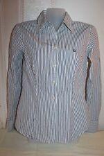 UNITED COLORS of BENETTON Hemd Bluse Damen Freizeithemd Büro Baumwolle Gr. S TOP