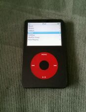 Apple iPod Classic U2 Special Edition Black/Red 30Gb Refurbished! 5th Generation