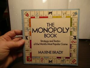 Book - 1974 - The Monopoly Book - Strategy & Tactics - Maxine Brady