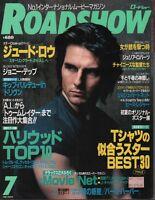 Road Show Japanese Mag July 2001 Tom Cruise Josh Hartnett 070318DBE2