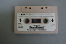 Vintage Worlds of Wonder-TEDDY RUXPIN- WHITE DISPLAY TAPE CASSETTE RARE *WOW*!