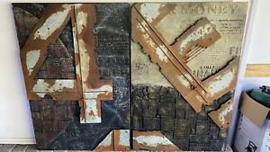 Industrial art, wall art /painting