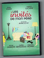 LES INVITÉS DE MON PÈRE - KARIN VIARD & FABRICE LUCHINI - DVD COMME NEUF