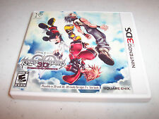 Kingdom Hearts 3D Dream Drop Distance (Nintendo 3DS) XL 2DS Game w/Case & Manual