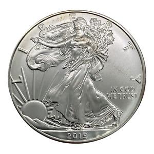 2019 Liberty Walking American Silver Eagle Dollar Coin
