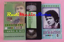 VHS in memoria di LUCIO BATTISTI I giardini di marzo DOMOTECA cd lp dvd mc(VM8)