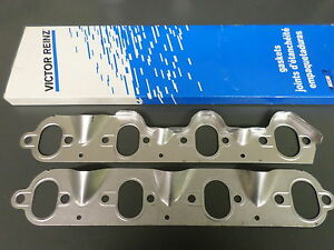 Victor MS15205 Exhaust Manifold Gaskets/Heat Shields for 68-87 Ford 460 7.5
