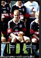 Mario Basler super grandi foto 20x30 cm il Bayern Monaco ORIG. Sign. +16