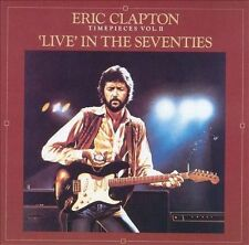 ERIC CLAPTON - TIME PIECES, VOL. 2: LIVE IN THE '70S NEW CD FREE Shipping!