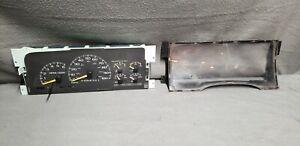 1995-up C K Chevy Silverado Suburban Sierra Yukon Instrument Gauge Cluster 112k