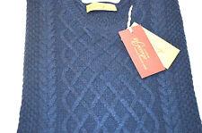 NEW 460,00 $ McGeorge Of Scotland Luxury Sweater Wool Cashmere Size XL Us 54 Eu