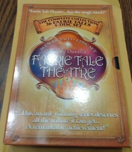 Shelley Duvall's Faerie Tale Theatre Complete Collection DVD Set 4 Discs Rare