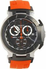 Tissot T-Race Quartz Movement Black Dial Men's Watch T0484172705701